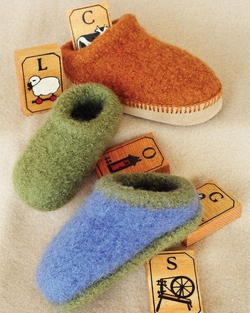 Children's Felt Clogs