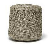 100% Wet-Spun Linen Warp, Natural 10/2, 1 lb