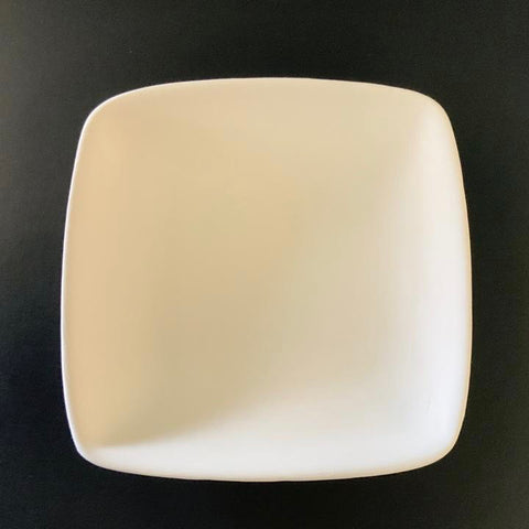 Geometric Small Square Plate, 5""