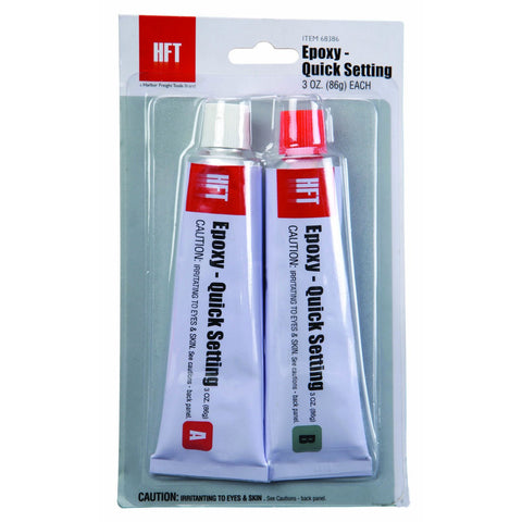Quick Setting 2-Part Epoxy