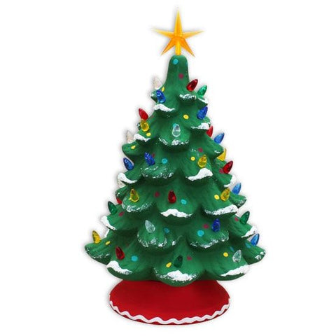 "13"" Lighted Christmas Tree"