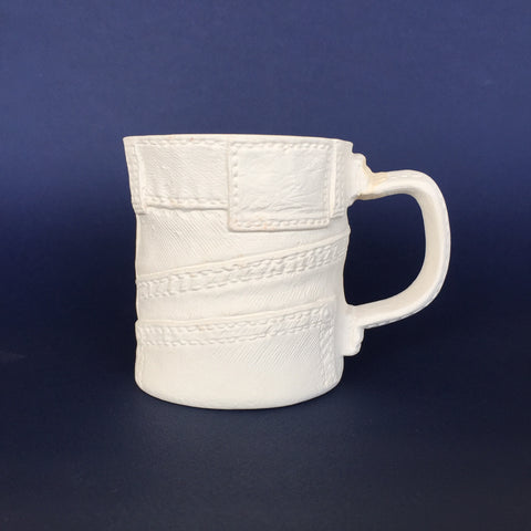 Small Denim Mug