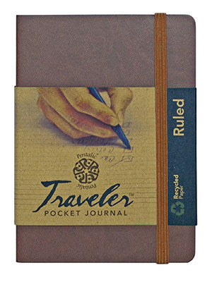 Ruled AF Traveler Pocket Journals by Pentalic
