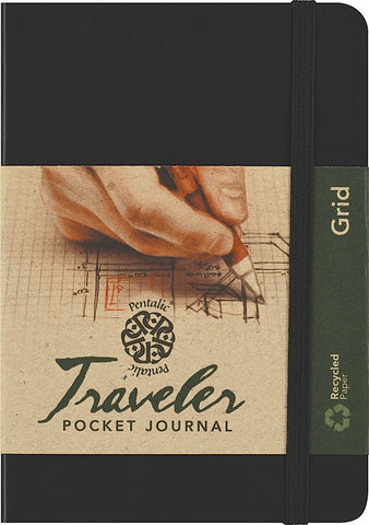 Grid AF Traveler Pocket Journals by Pentalic