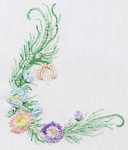 """Small Sampler"" Brazilian Embroidery Kit by EdMar"