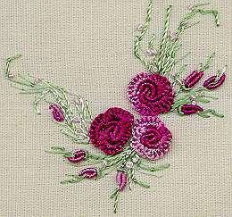 """Summer Roses"" Brazilian Embroidery Kit by EdMar"