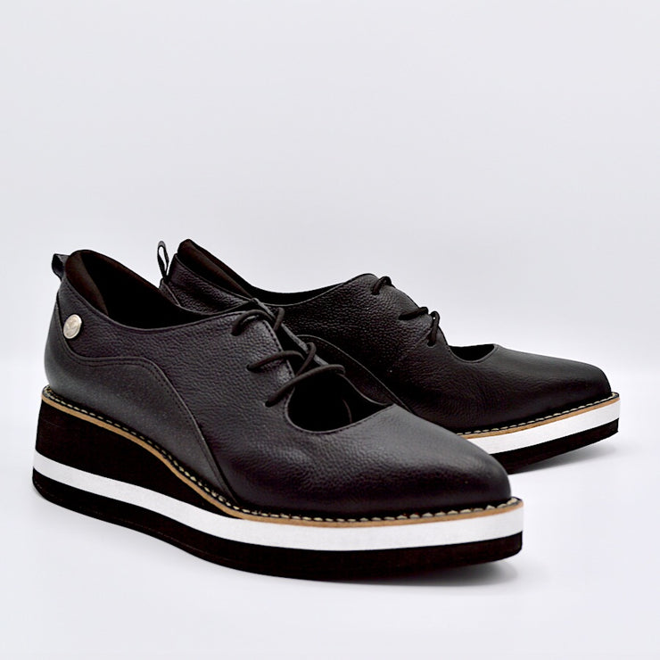 TEMPO - BLACK/SHINE LEATHER
