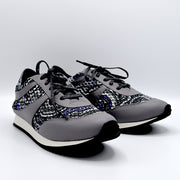 TRAIN TRAVEL SHOE - GREY/PURPLE