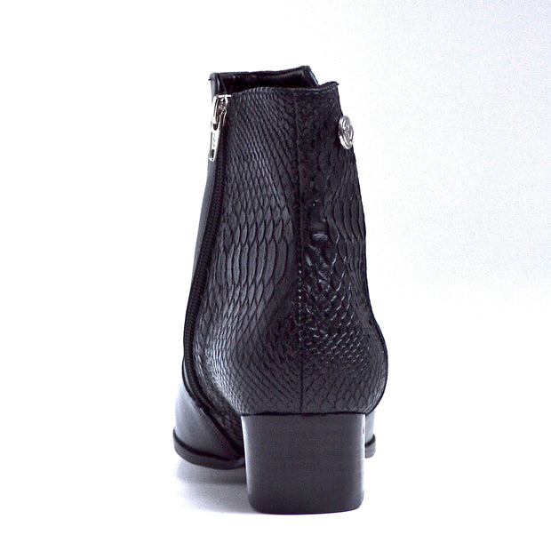 AMUSE BOOT - BLACK LEATHER