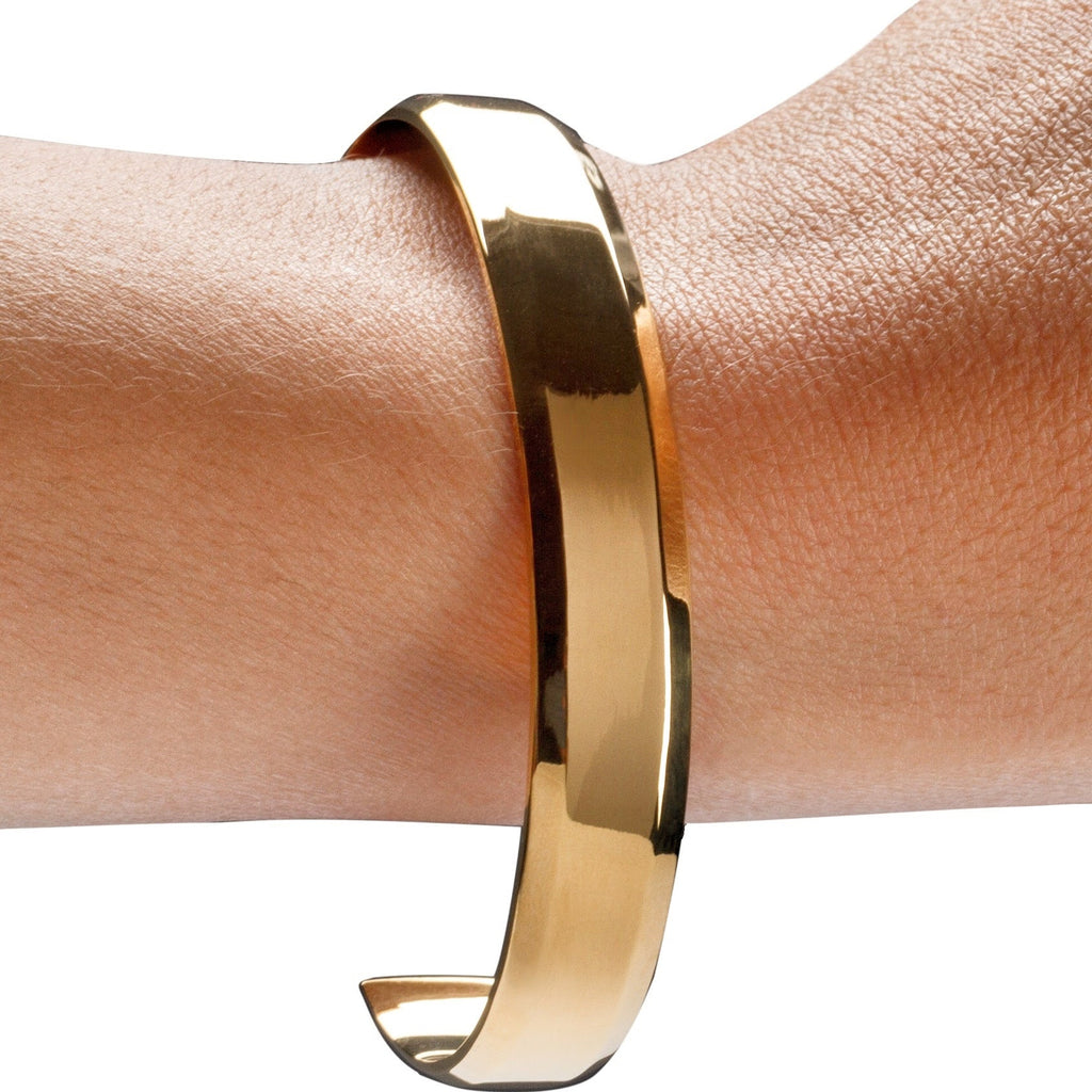 18k Gold Plated Ladies Cuff