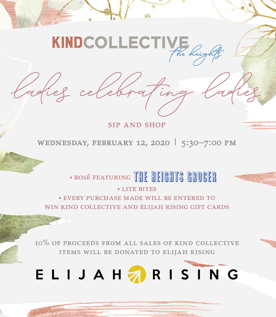 Ladies Celebrating Ladies Sip and Shop | 02.12.2020