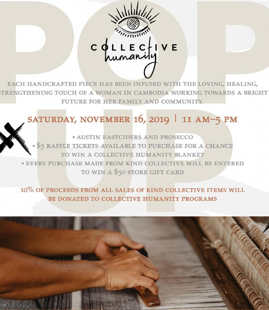 Pop Up | Collective Humanity | 11.16.2019