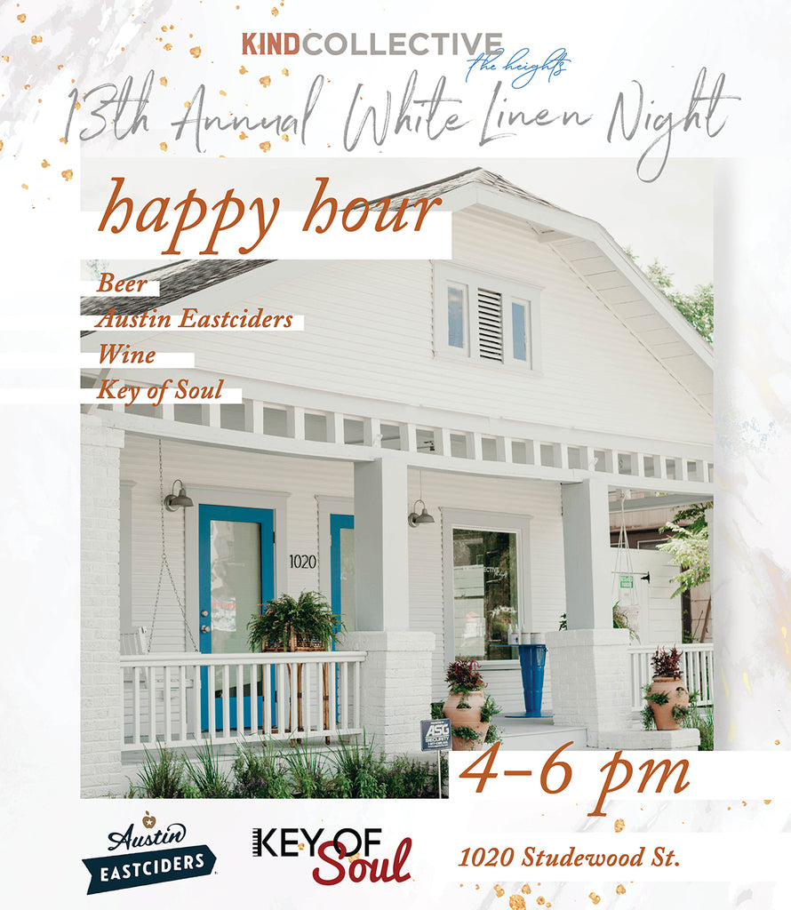 White Linen Night Happy Hour | 08.03.2019