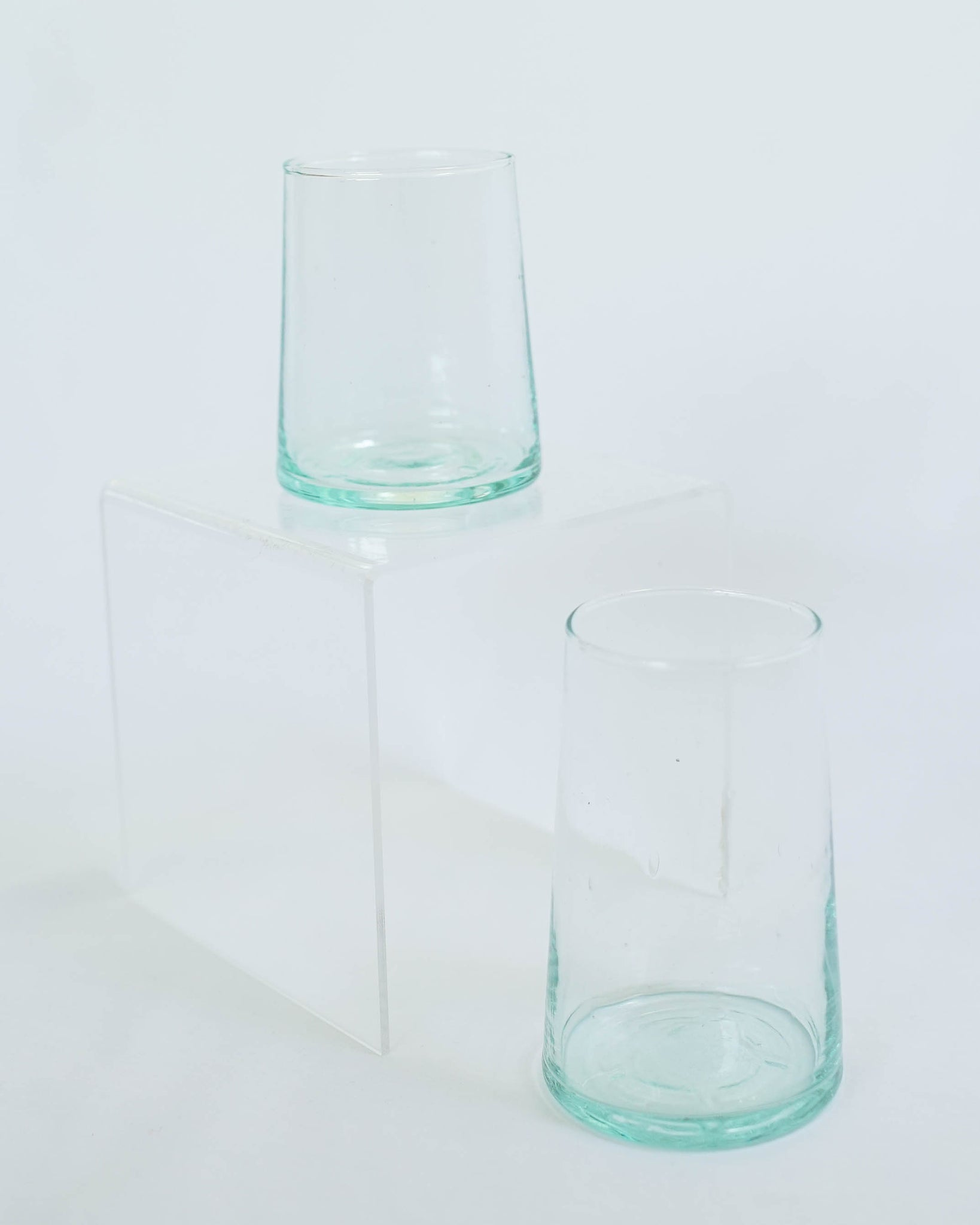 Tall Flared Glass - Clear