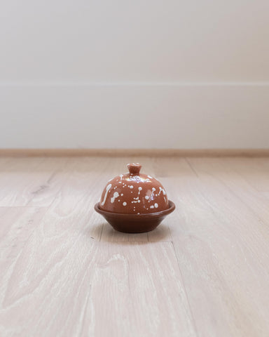 Granito Butter Dish - Red Earth