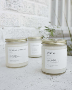 The Minimalist Candle