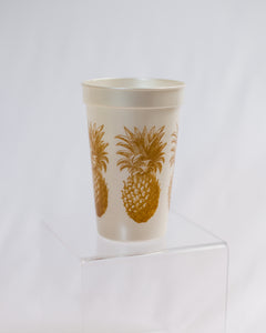 Pineapple 17 oz Pearlized Cup