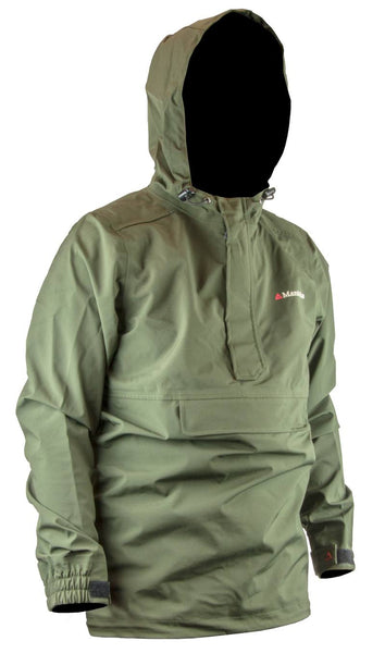 Manitoba Storm Compact Anorak Jacket - Olive Green