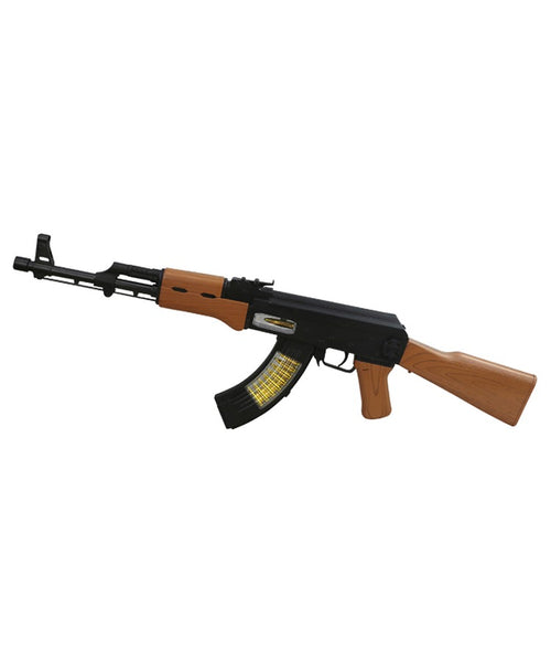 Childrens AK-47 Gun - lights and sound toy