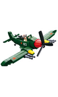 Sluban WWII Allied Ground Attack Aircraft (B0683)