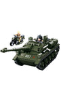 Sluban WWII Allied Tank Destroyer (B0687)