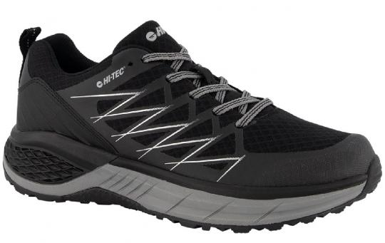 Hi-Tec Trail Lite Low in Black and Silver