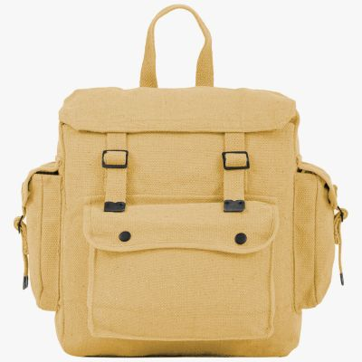 Highlander Large Webbing Backpack with Pockets
