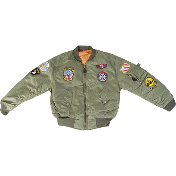 Kids MA1 Flight Jacket from Mil-Com
