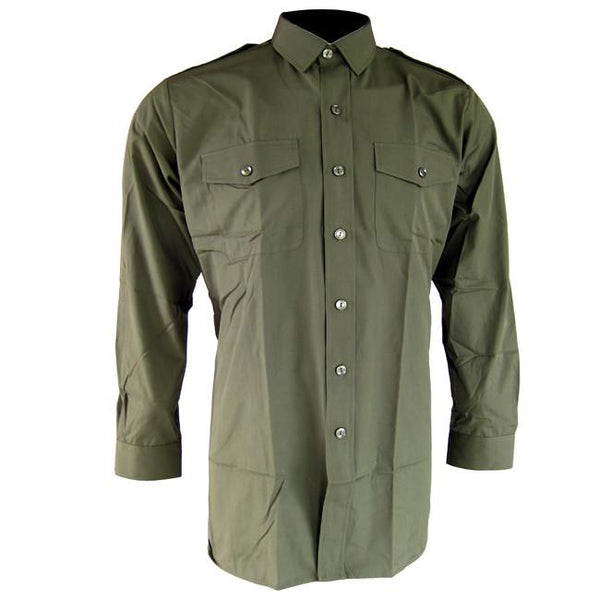 British Army Green Shirt