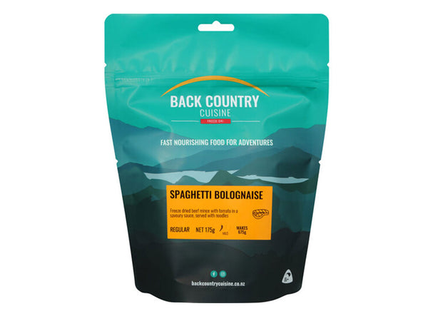 Back Country Spaghetti Bolognese - Serves 2 - 175 gram pack