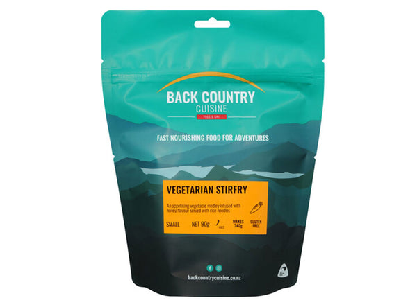Back Country Vegetarian Stir-fry - Serves 2 - 175 gram pack