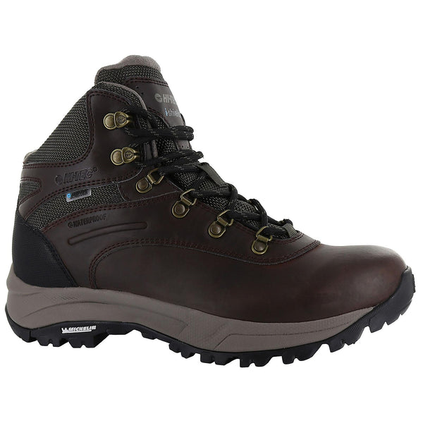 Hi-Tec Womens Altitude VI i WP in Dark Chocolate