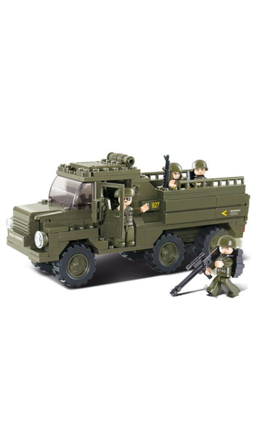 Sluban Troop  Carier Truck (B0301)
