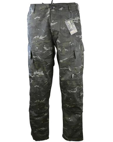 Kombat Trousers BTP Black Camo