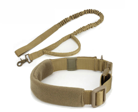 Tactical Dog Collar + Lead Set