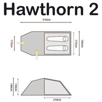 Hawthorn 2 Person Tent