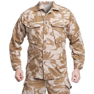 British Army Desert Shirt