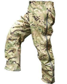 British Army Gore-tex Paclite Trousers