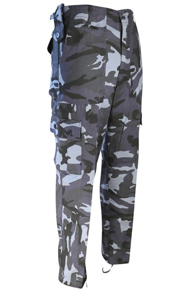 Kombat Trousers -Midnight Blue