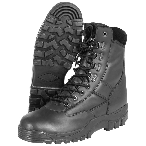 All Leather Patrol Boots