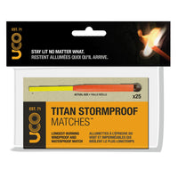 Titan Stormproof Matches - 25 Pack