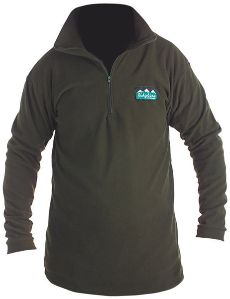 Ridgeline Micro Long Sleeve Zip Shirt