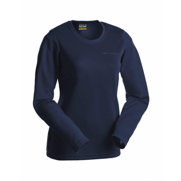 Earth Sea and Sky Power Dry Long Sleeve Crew - Navy