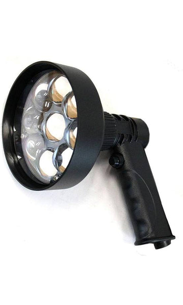 Night Saber Handheld Spotlight Rechargeable 120mm LED 3000 Lumens