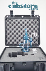 7TEN GLASS - JEREMIAH VICK 10 MM BLUE STARDUST INCYCLER