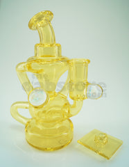 E.F. Norris Cup Recycler in North Star Glass Experimental #32