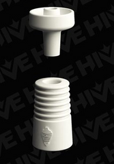 Hive ceramic 10mm domeless nail the dab store