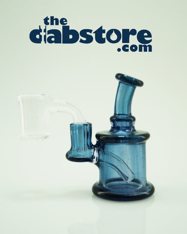 710 Glass 6 MM Blue Stardust Nano Rig