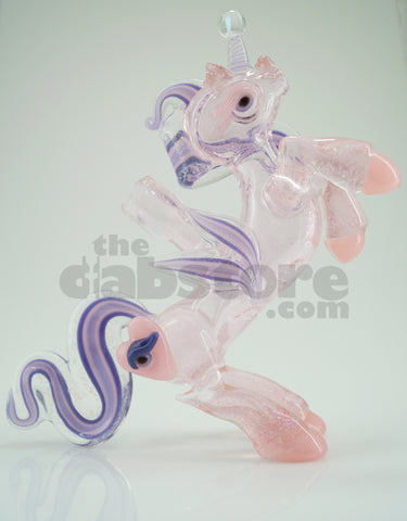 Amy Likes Fire - Pink Dichro Unicorn Rig 10 MM (Ace Glass)