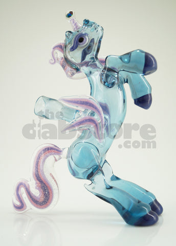 Amy Likes Fire - Raindrop Unicorn Rig 10 MM (Ace Glass)